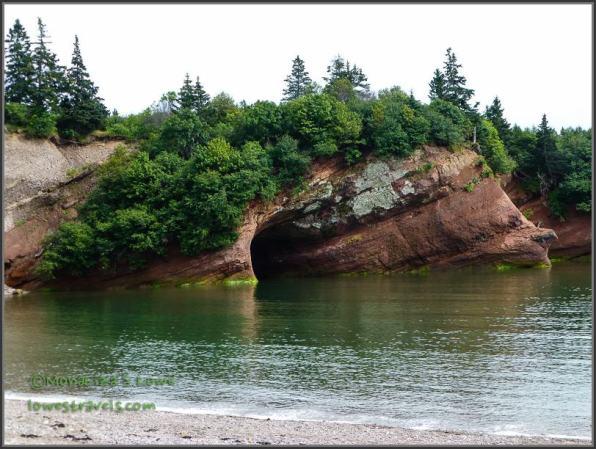 ...and again near high tide