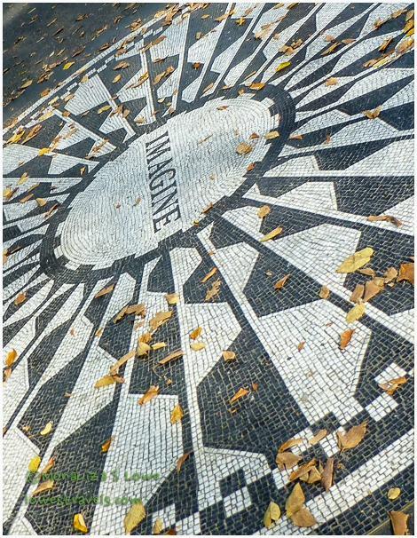 Strawberry Field Mosaic
