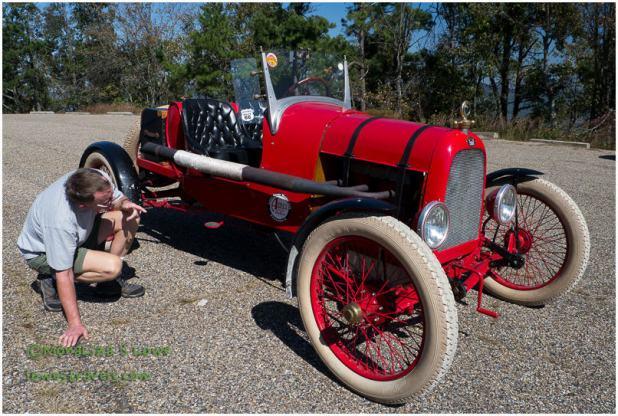 Red Model T