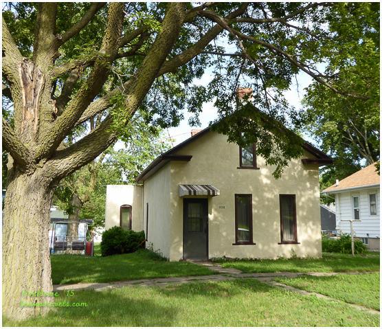 Great-grandma Larsen's house