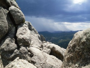 Storm coming on the top of Garfield Goes to Washington