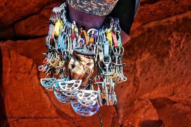 Trad Climbing Rack