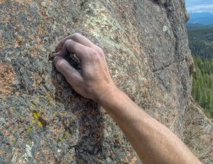 Rock climbing South Platte