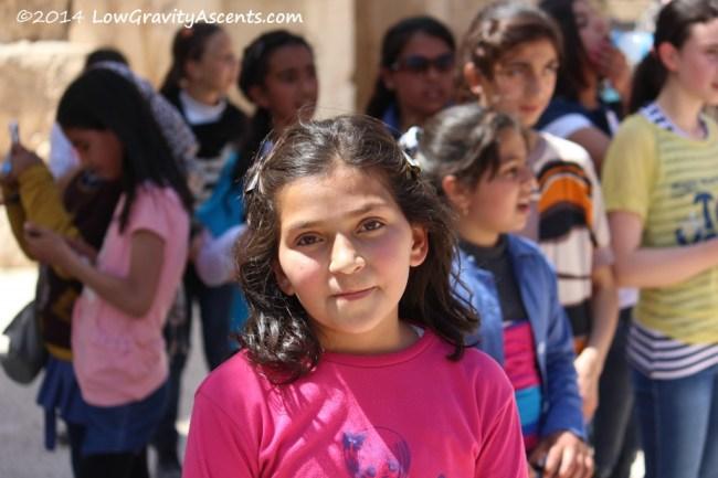 Young Jordanian Girl