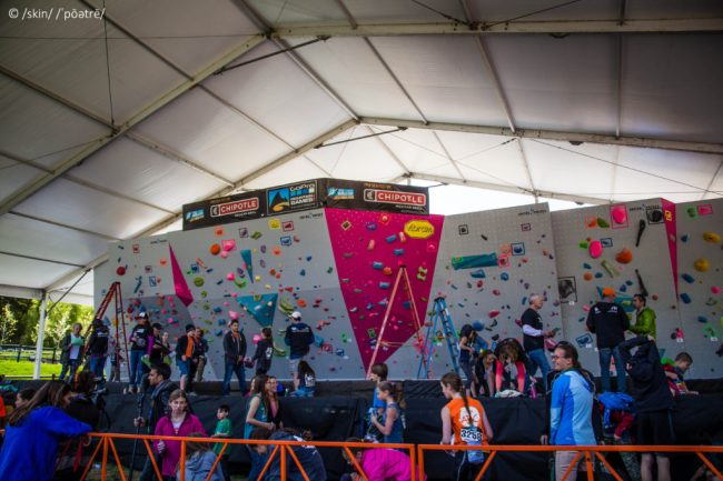 GoPro Citizens Bouldering Competition Wall