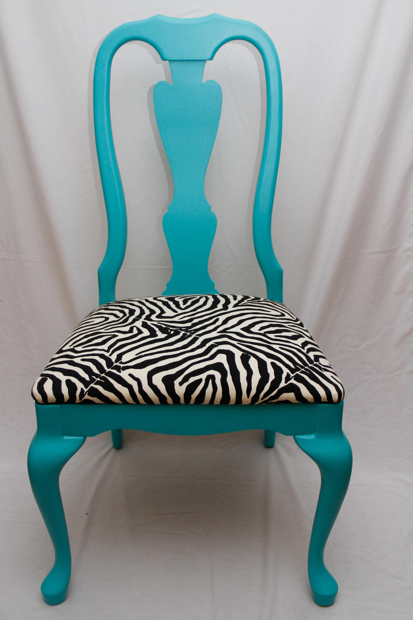 Dining Room Zebra Chairs Cool Teenage Girl Rooms 2015