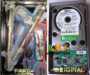 spot-fake hard drives