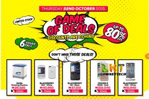 Game of deals- iphones