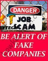 fake job agency