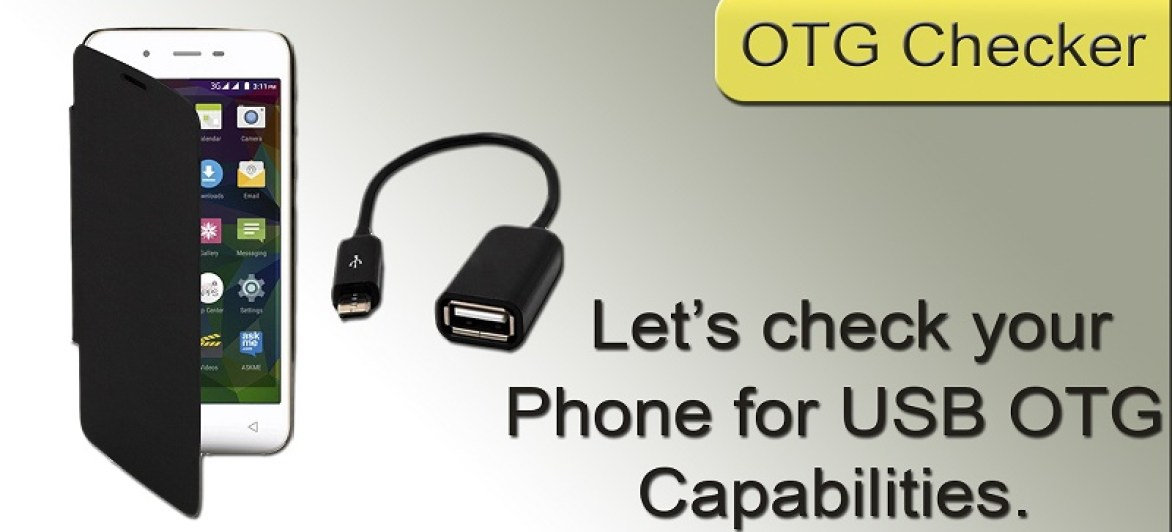 How To Check If Your Smartphones Supports USB OTG Flash Drive