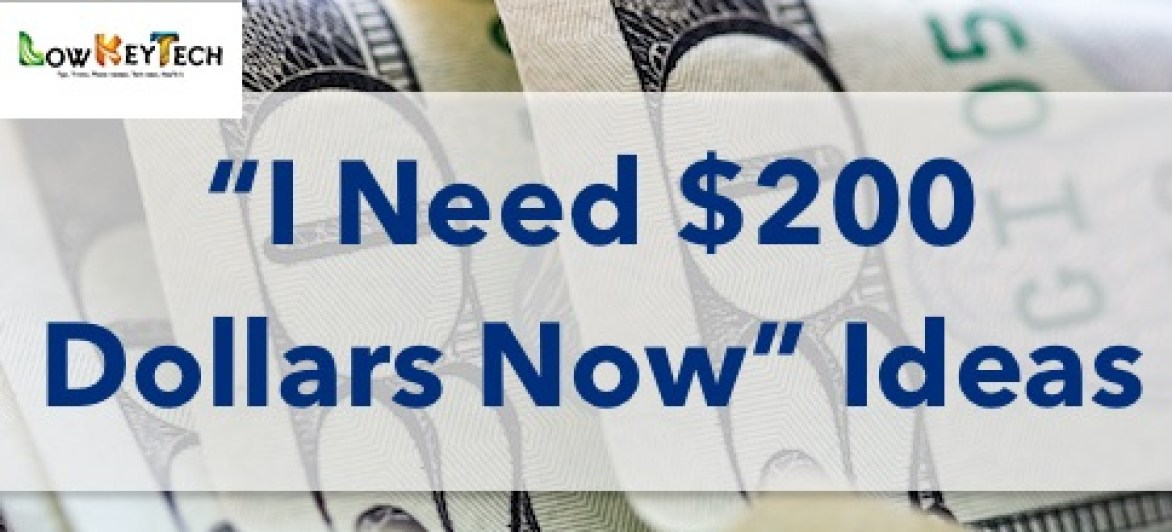 I Need 200 Dollars Now – Learn How To Make It Daily On Autopilot