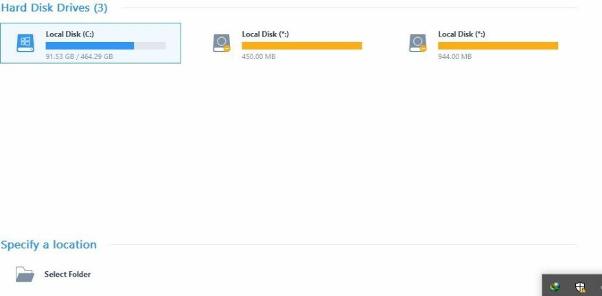 launch easeus data recovery wizard