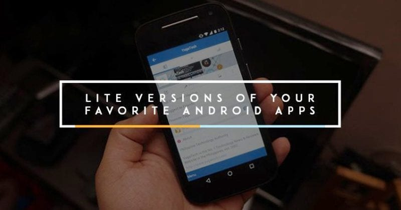 Use a Lightweight version of apps