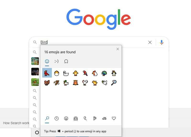 Full-colored emojis on Google Chrome