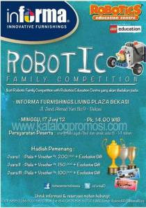 Robotic Family Competition Di Informa Furnishings Living