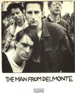 Photograph of The Man From Del Monte who were actually a lady and three gents