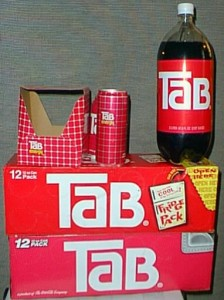 Tab drinks packaging, bottle, cans and multi-pack