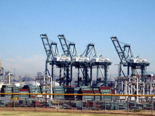 Long Beach Container Port