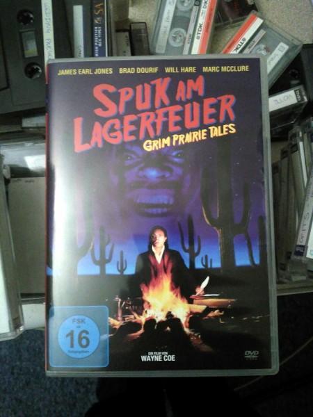 German DVD of the film Grim Prairie Tales