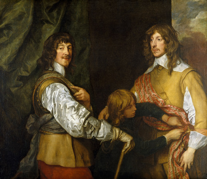 MOUNTJOY BLOUNT EARL OF NEWPORT 1597 1666 AND GEORGE