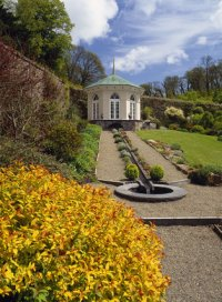 The Walled Garden with Gothic Gazebo and glorious Spirea ...
