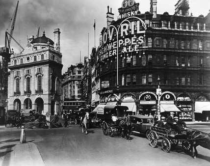 Piccadilly Circus north side 20th century by George