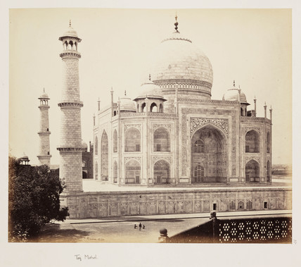 Taj Mahal c 1865 by Bourne Samuel at Science and