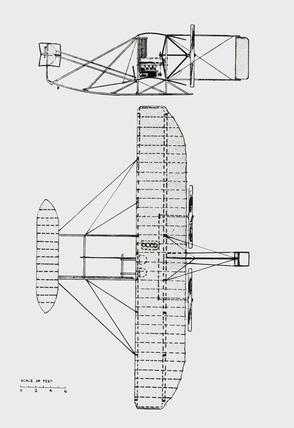 General arrangement of the standard 1907-1909 type machine