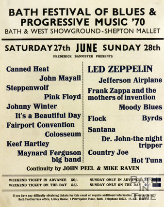 Image result for bath festival 1970