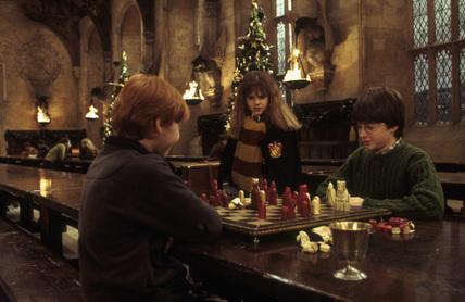 Harry Potter main catur :D