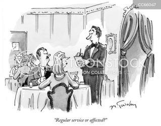 fancy restaurant cartoon choices cartoons restaurants order