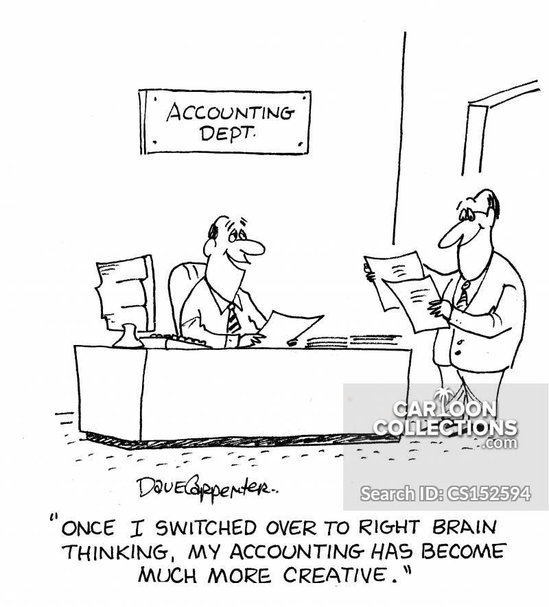 Brain Halves Cartoons