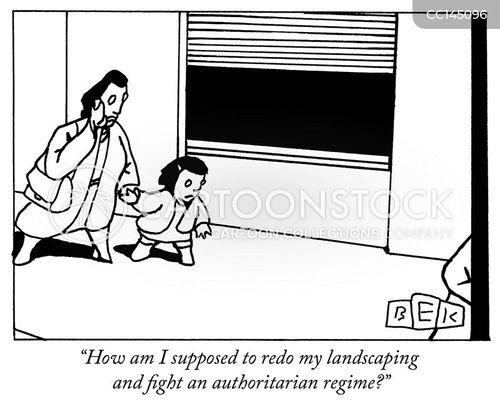 Authoritarian Government Cartoons