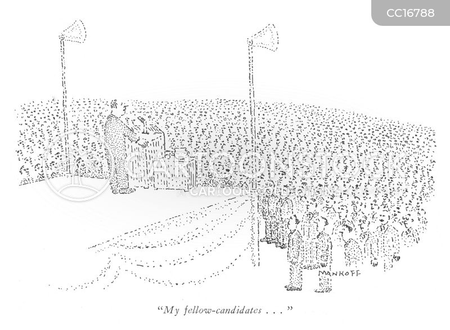 Campaign Speech Cartoons