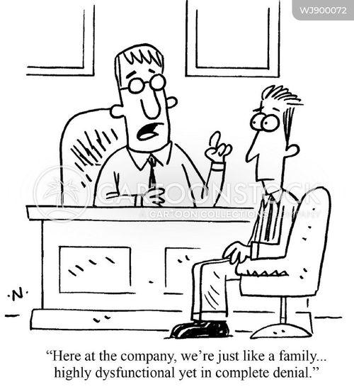 Work Environment Cartoons