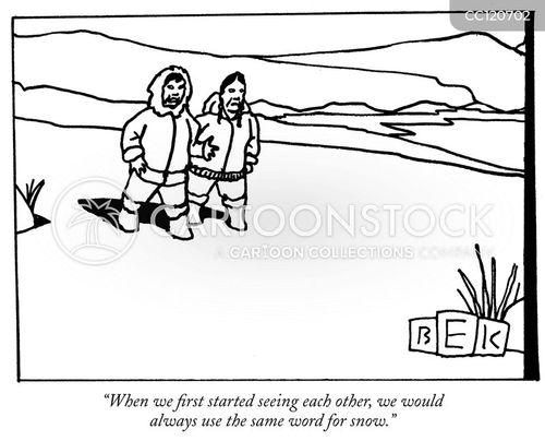 Eskimo Cartoons