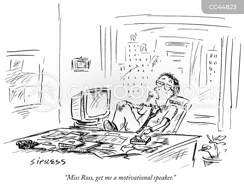 Motivational Speaker Cartoons