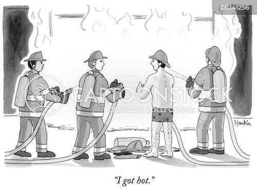 fireman cartoons and comics