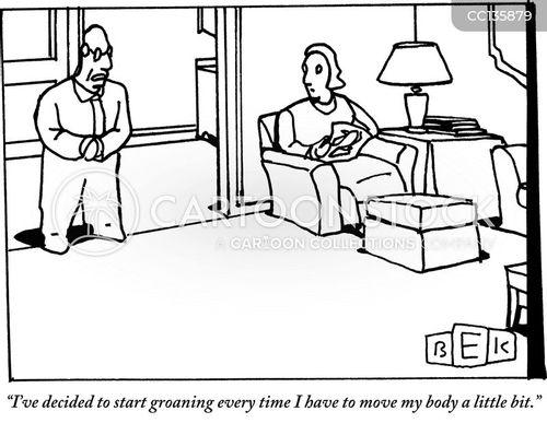 Pain Cartoons