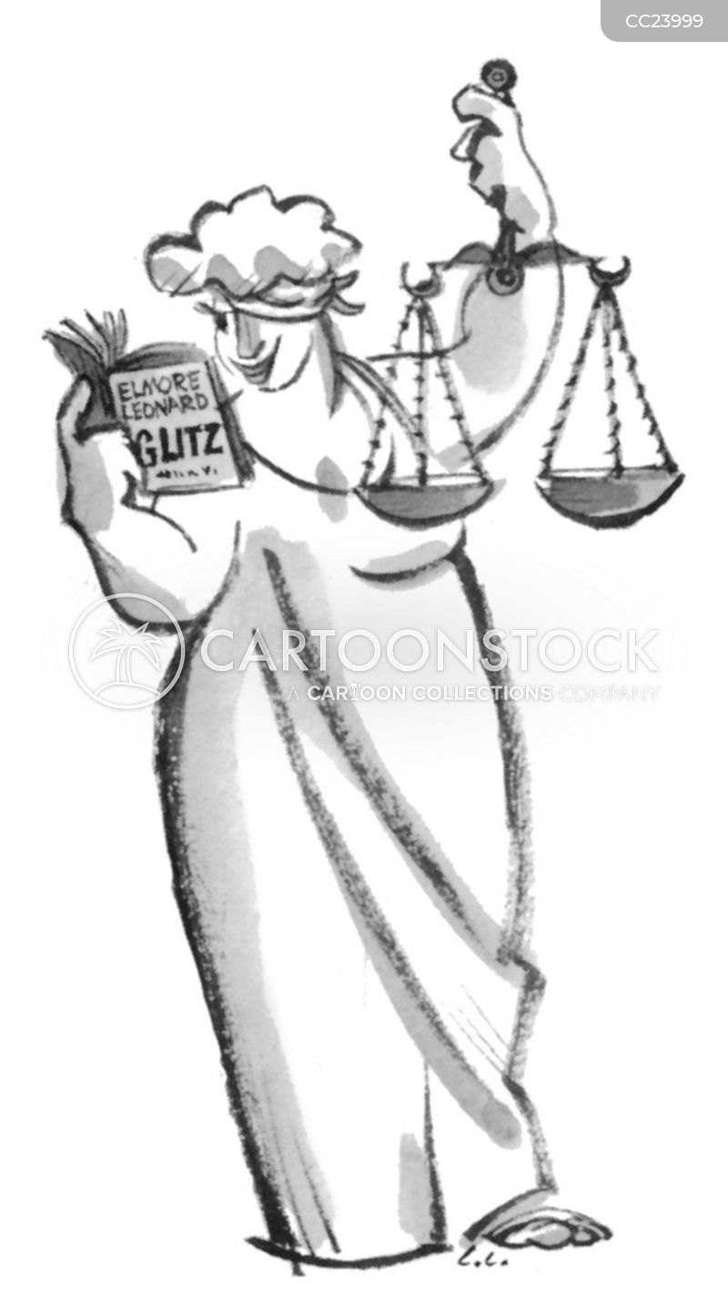 scales of justice cartoons