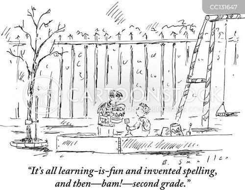 Spelling Cartoons
