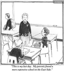 Classroom Cartoons and Comics funny pictures from CartoonStock