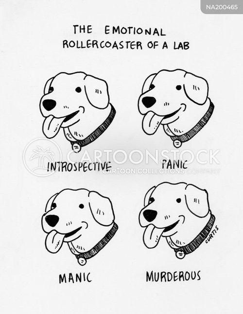 Yellow Lab Cartoon : yellow, cartoon, Labrador, Cartoons, Comics, Funny, Pictures, CartoonStock