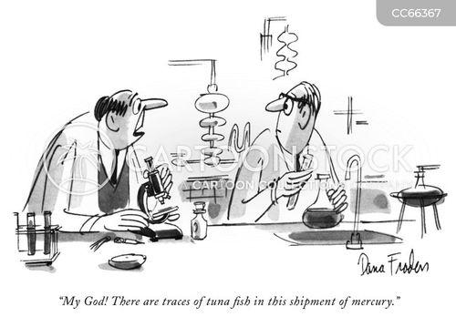 Scientific Research Cartoons