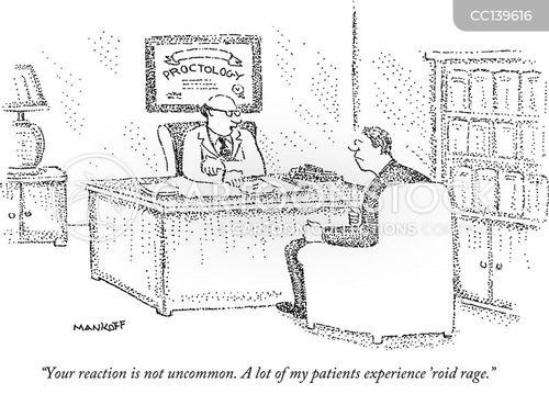 Funny Hemorrhoid Cartoon : Six Assorted Vintage Maxine