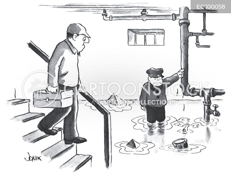 Plumbing Cartoons And Comics Funny Pictures From Cartoonstock
