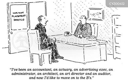 Job Experience Cartoons