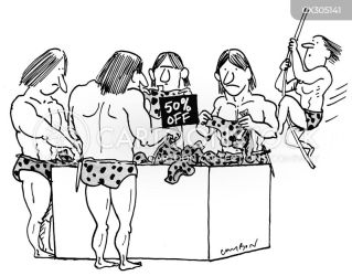 Clothes Shopping Cartoons and Comics funny pictures from Cartoon Collections
