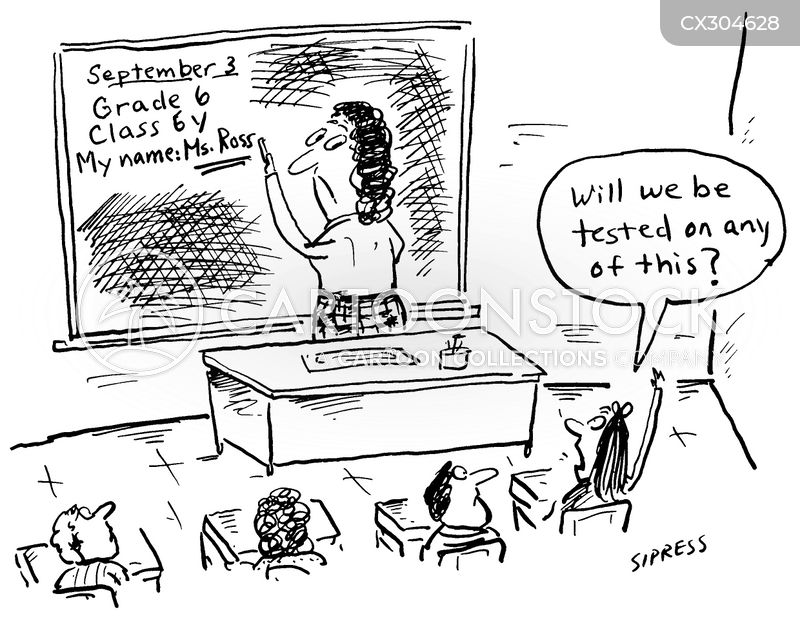First Day Of School Cartoons