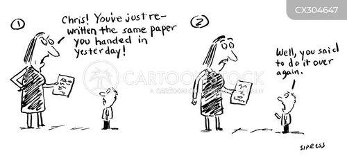 Plagiarism Cartoons